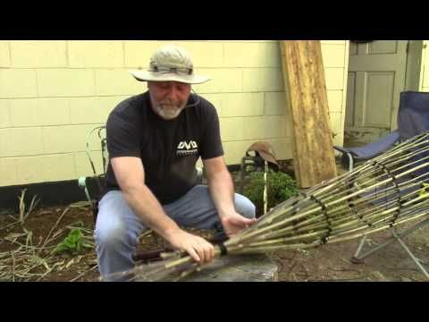 How to Build a River Cane Fish Trap ~ Survival Sherpa