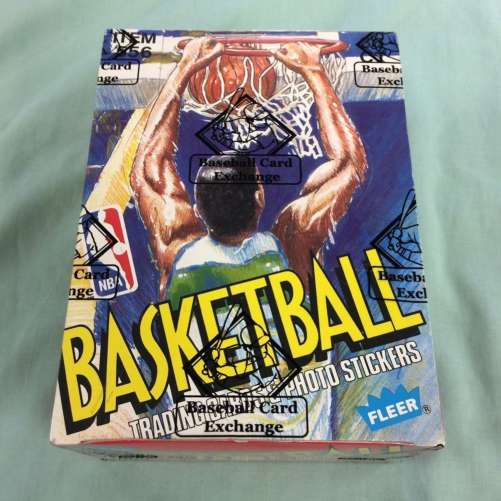 198990 Fleer Basketball Full Box 36 Factory Sealed Wax