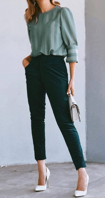 24 Best Work And Office Outfits Ideas #officeoutfit