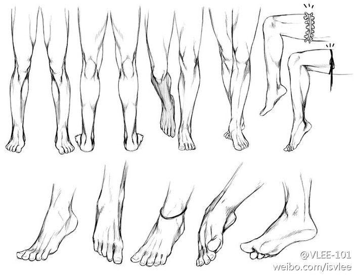 腿,脚,画...来自冷漠的代价的图片分享-堆糖网
