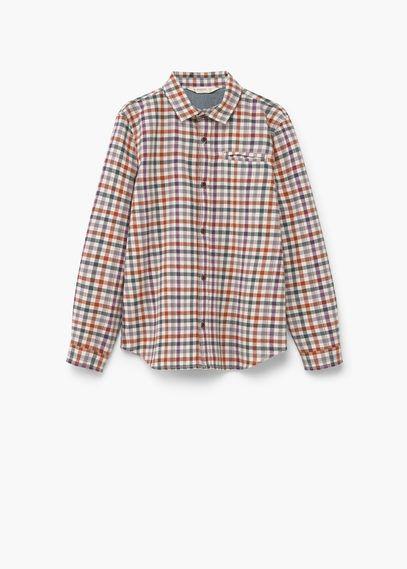 Camisa franela cuadros
