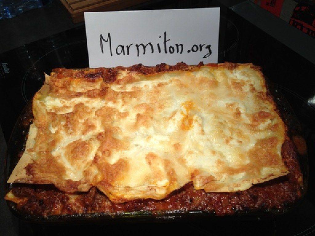 Mes lasagnes bolognaises (sans béchamel)