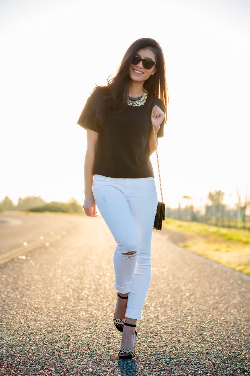 201796493577 Pretty black and white outfit - Visit Stylishlyme.com to read the 5 Style  Tips
