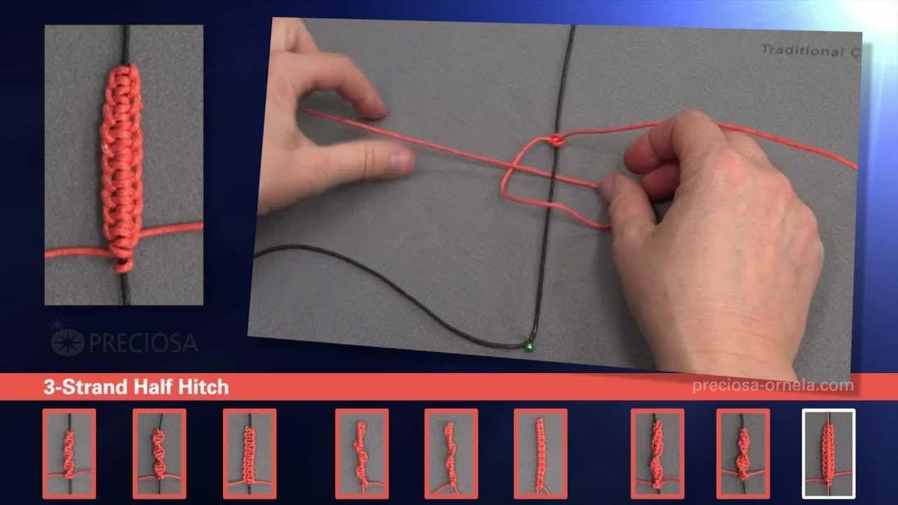 Macramé knots tutorial jewelry tutorials pinterest macrame