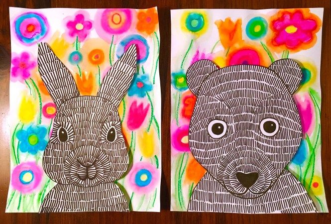 """Search Results for """"rabbit bear"""" – Art with Mrs Filmore   Texture"""
