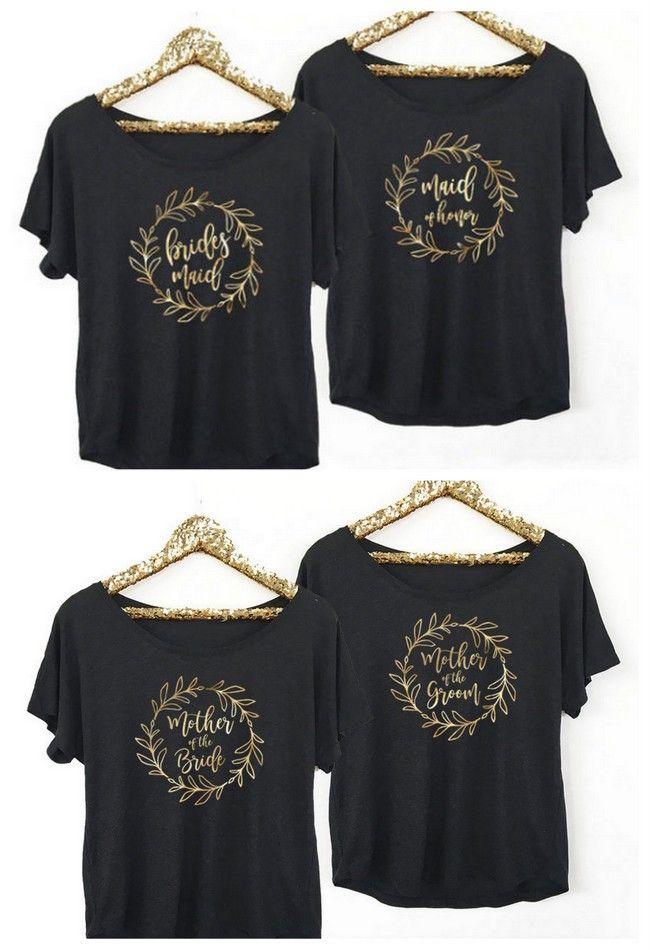 confetti daydreams wedding invitations%0A     Cutest Bridesmaid Shirts   Bachelorette Tees Around