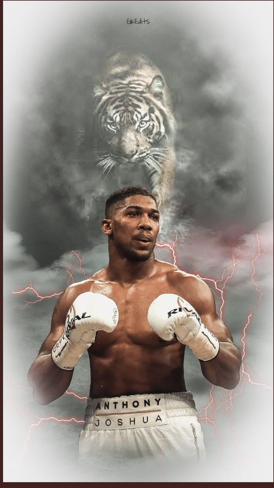 Anthony Joshua Boxing It will Hurt Inspirational Motivational Quote Sign Poster Print Picture