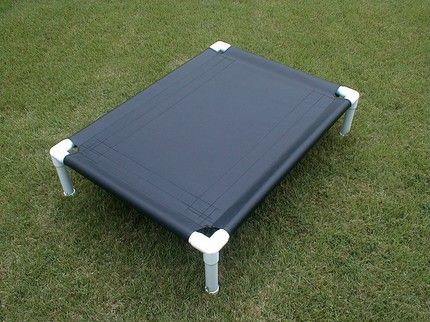 Portable Camping Canvas PVC Dog Cot Dog Bed 12 Colors Warranty 28x40x8