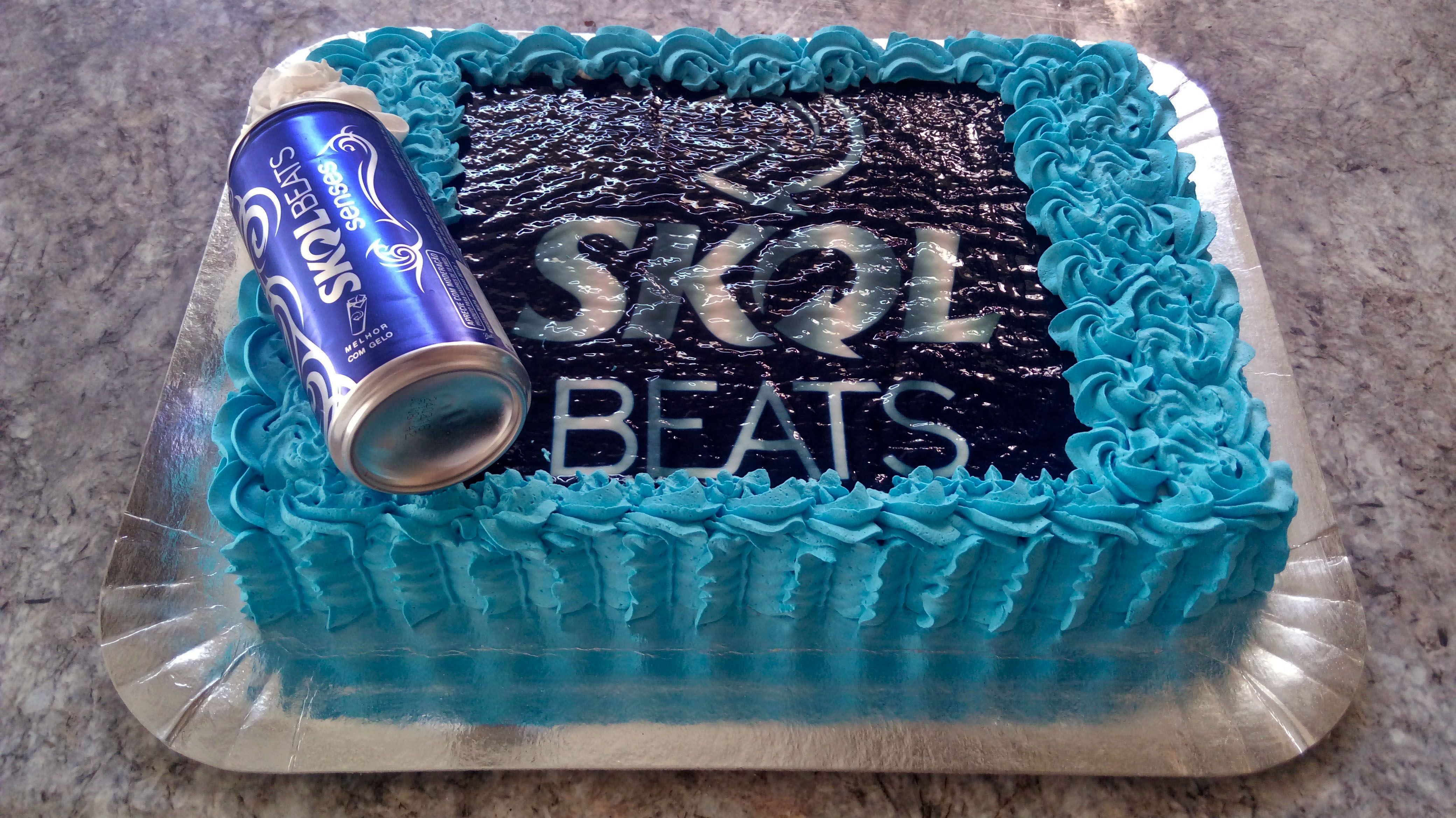 Favoritos Bolo Skol Beats! | Bolos - Cerveja | Pinterest | Bolo skol beats  JI76
