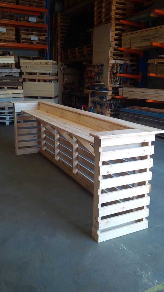 30 Best Picket Pallet Bar DIY Ideas for Your Home | Wedding top ...