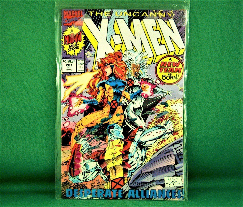 Marvel Comics X Men 281 October 1991 In 2020 Marvel Comics Marvel Comics