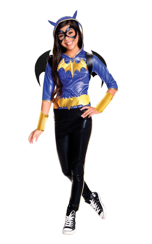 DC Superhero Girls Deluxe Batgirl Costume Child - Toynk Toys  sc 1 st  Pinterest & DC Superhero Girls Deluxe Batgirl Costume Child - Toynk Toys | Super ...