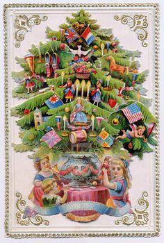 victorian christmas tree - Google Search