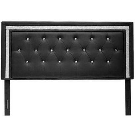 Home Black Headboard Black Tufted Headboard Furniture