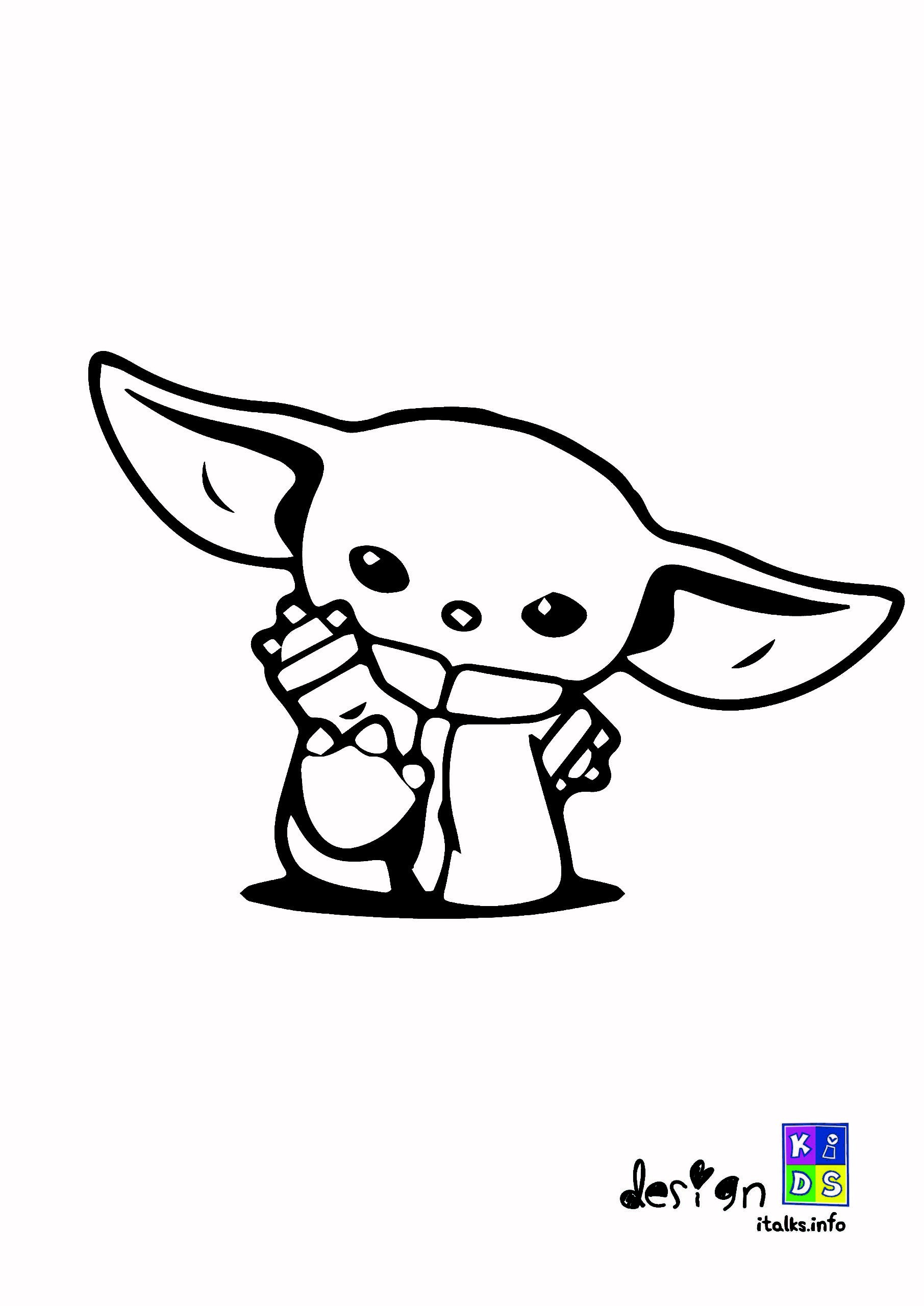 Free Printable Baby Yoda Coloring Pages | 101 Coloring Pages