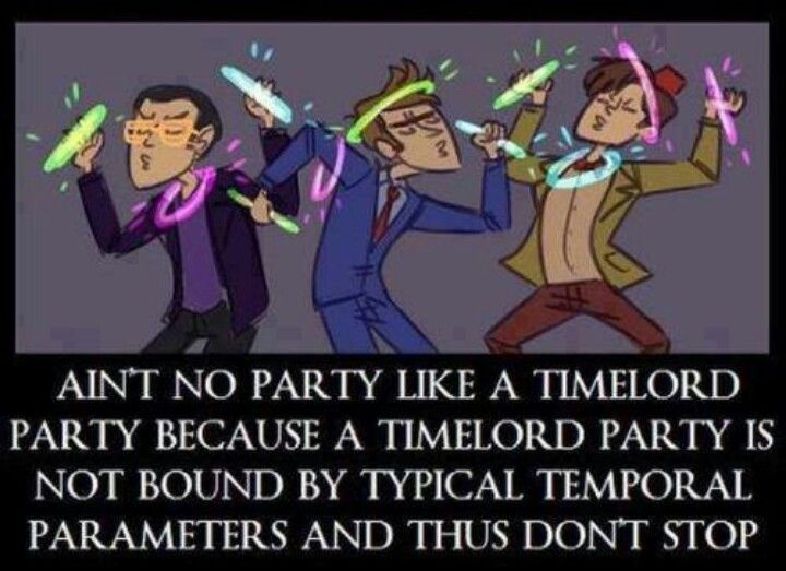 Timelord party