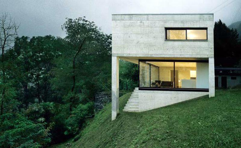 Casa Gobbi, Luigi Snozzi architecture Pinterest