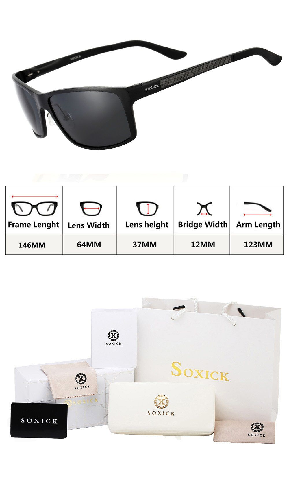 42599c7a1b43 SOXICK Polarized Sunglasses For Men HD Sport Fashion Sunglasses     Learn  more by visiting the image link.(It is Amazon affiliate link)   MenEyeWearIdeas