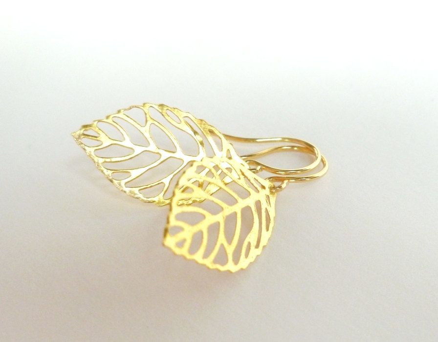 Cute Earrings Gold Design Simple Gallery - Jewelry Collection Ideas ...