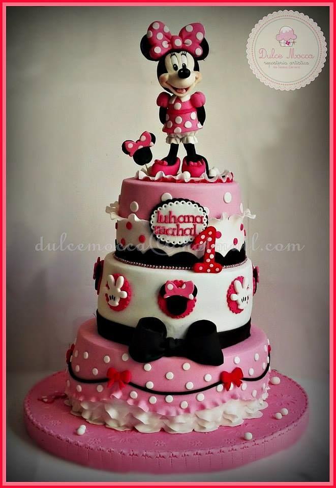 Minnie Mouse Cake torta Tarta