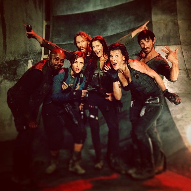 The Cast #Resident_Evil_The_Final_Chapter