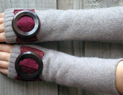 Tubeway Armies Arm Warmers Vintage Clothing Wholesale Dust Factory Fashion Recycling Arm Warmers Vintage Outfits Warmers