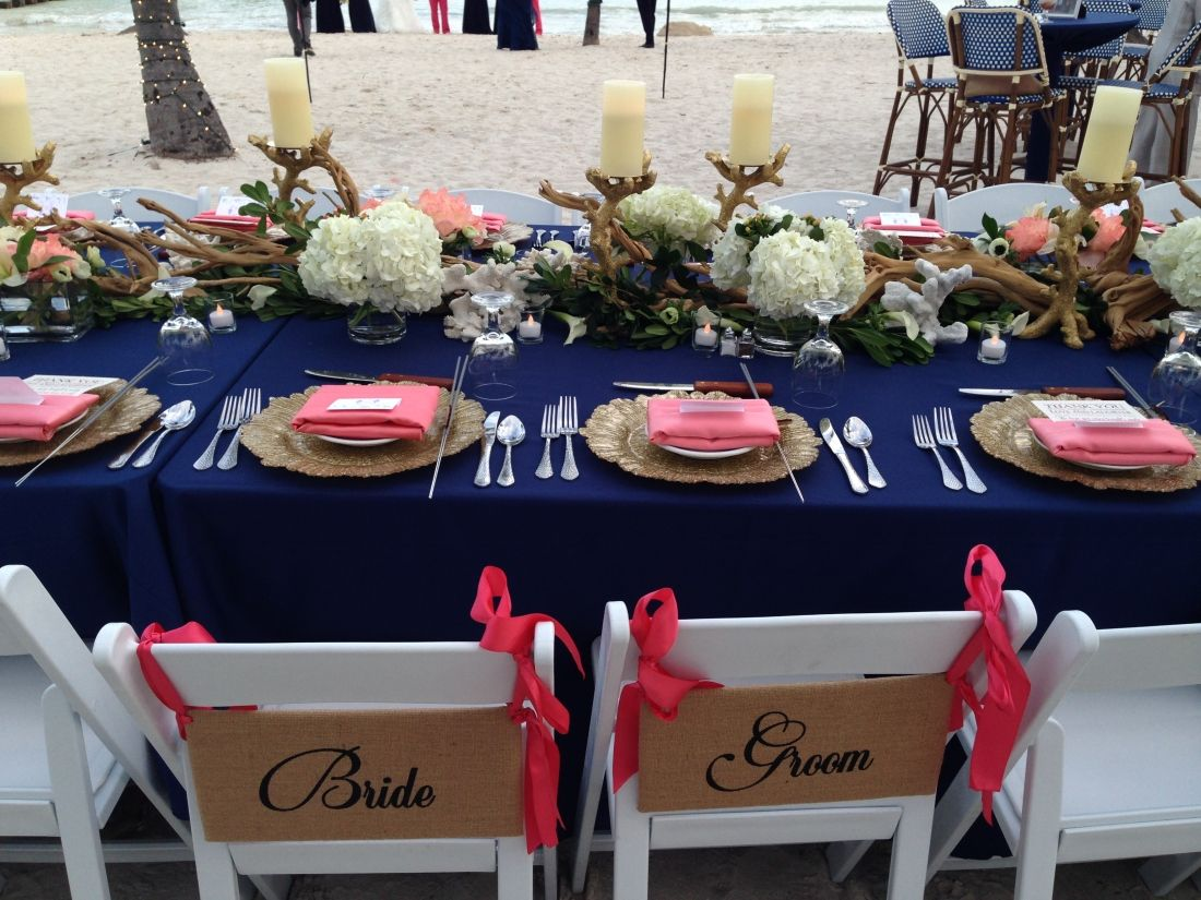 Island Chic wedding decor Soiree Key West Key West Wedding