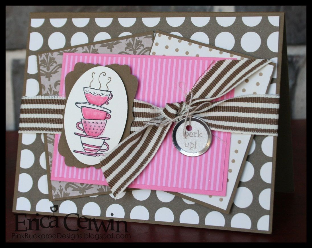 what a cute card to use to give someone a Starbucks card!