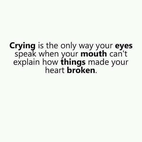 Crying Words Quotes Me Quotes