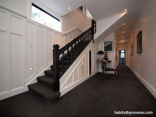 Dark Grey Carpet Stairs