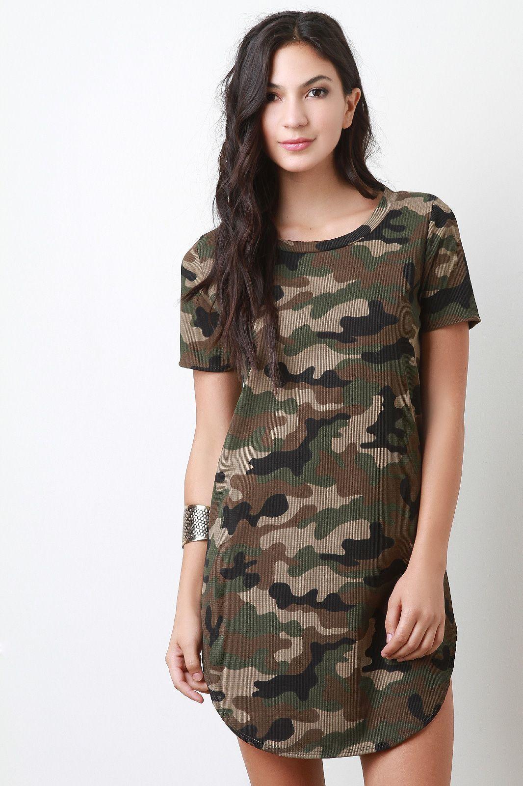 49+ Camo t shirt dress info