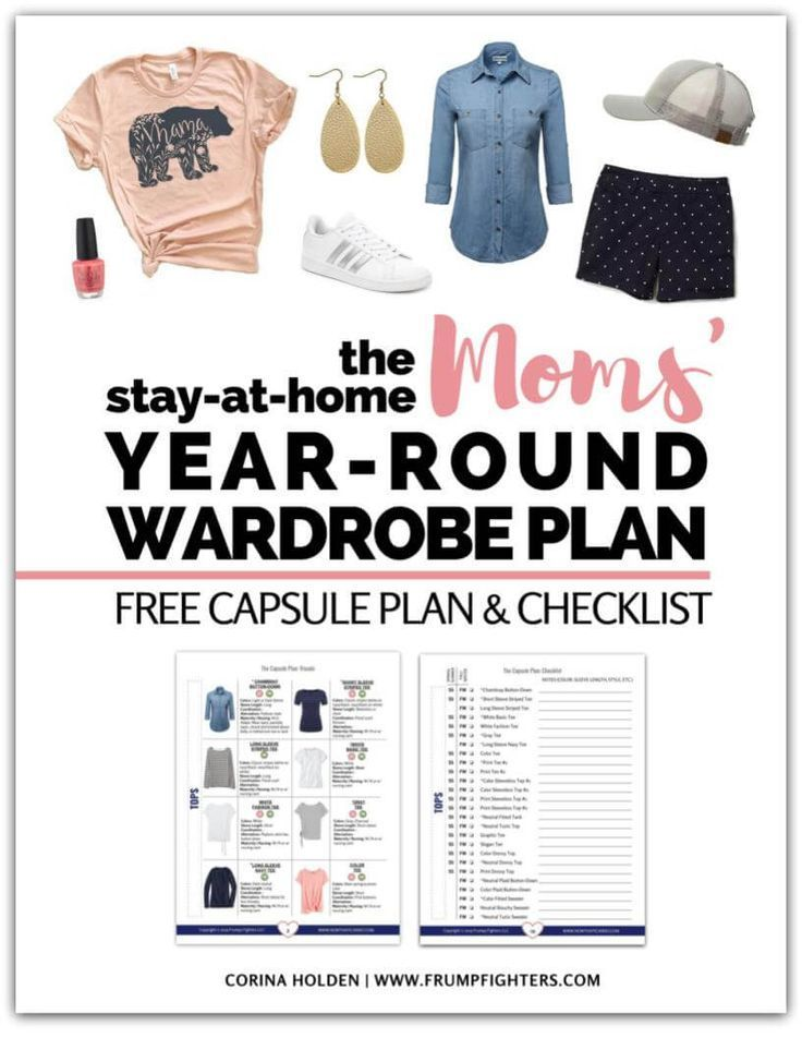 Free guide on how to build a wardrobe! The best clothes for on-the