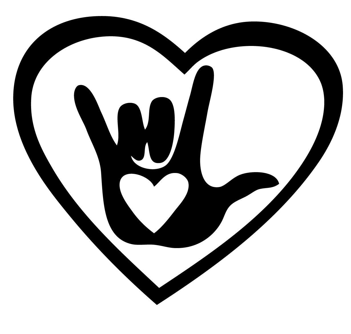 Our vinyl decals are easy to apply and make an impressive impact i love you sign language meme biocorpaavc