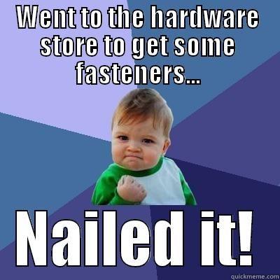 Hardware Store Funny Nurse Humor Success Kid Work Humor