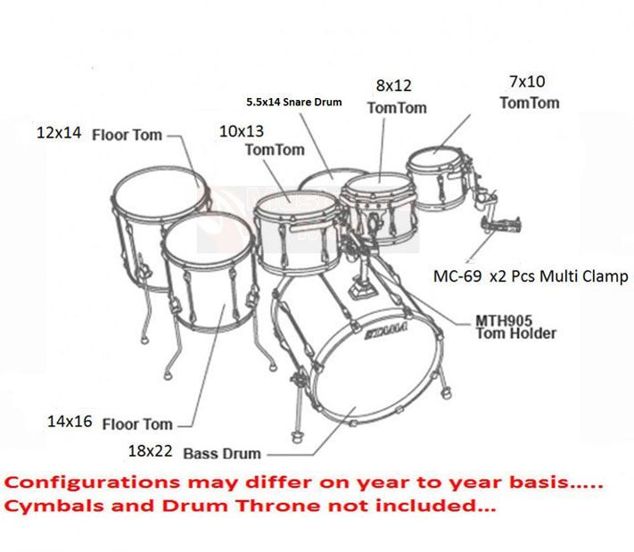 Image result for standard drum tuning notes | beats | Drum