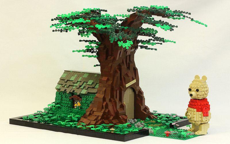 Lego (^o^) Kiddo (^o^) House in the Hundred Acre Wood
