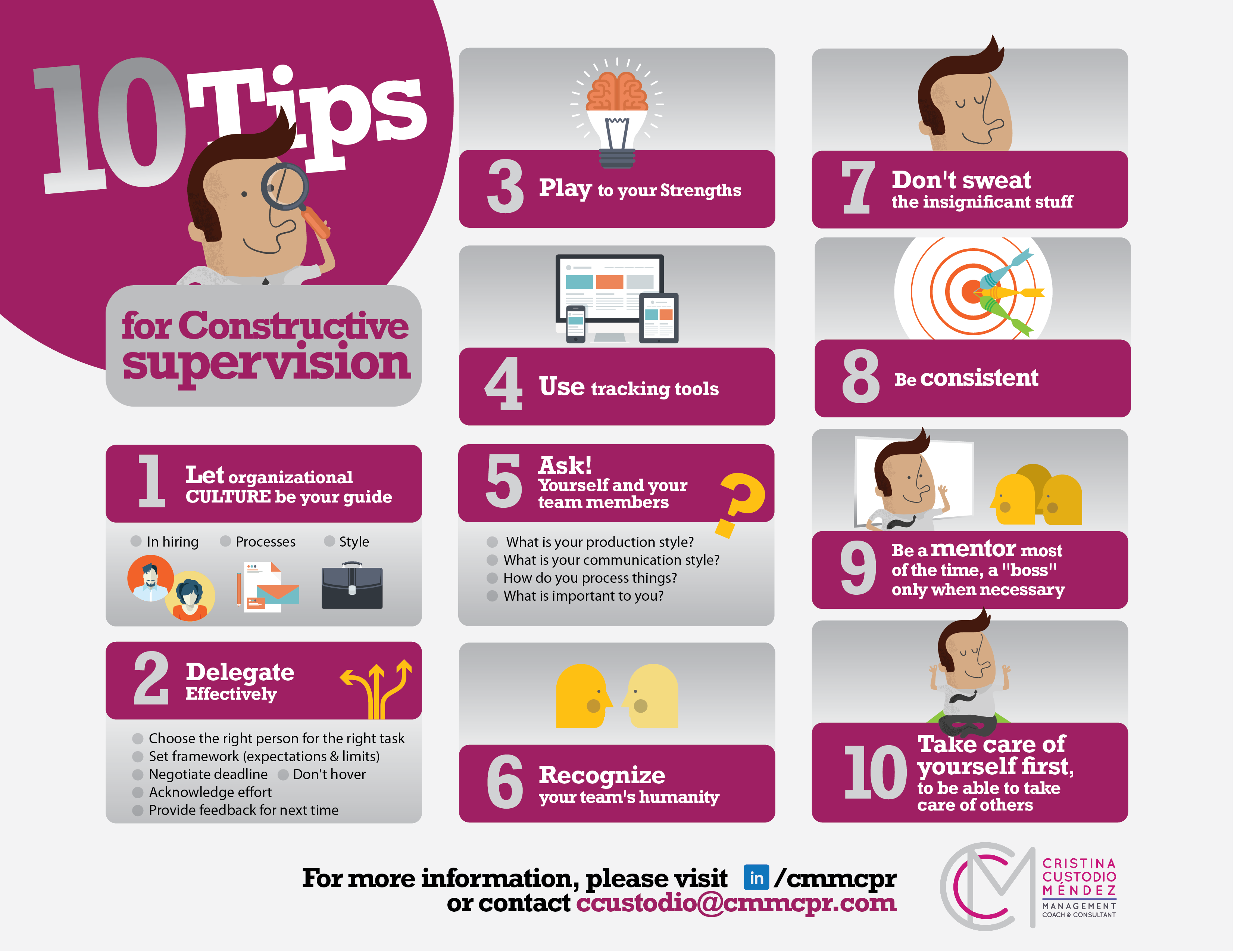 10 Tips for Constructive Supervision and Management
