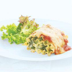 Spinach Lasagna Rolls Allrecipes.com