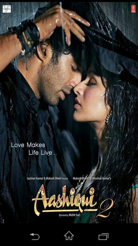 Aashiqui 2 Poster With Images Hindi Movie Song Best Bollywood Movies Romantic Movies
