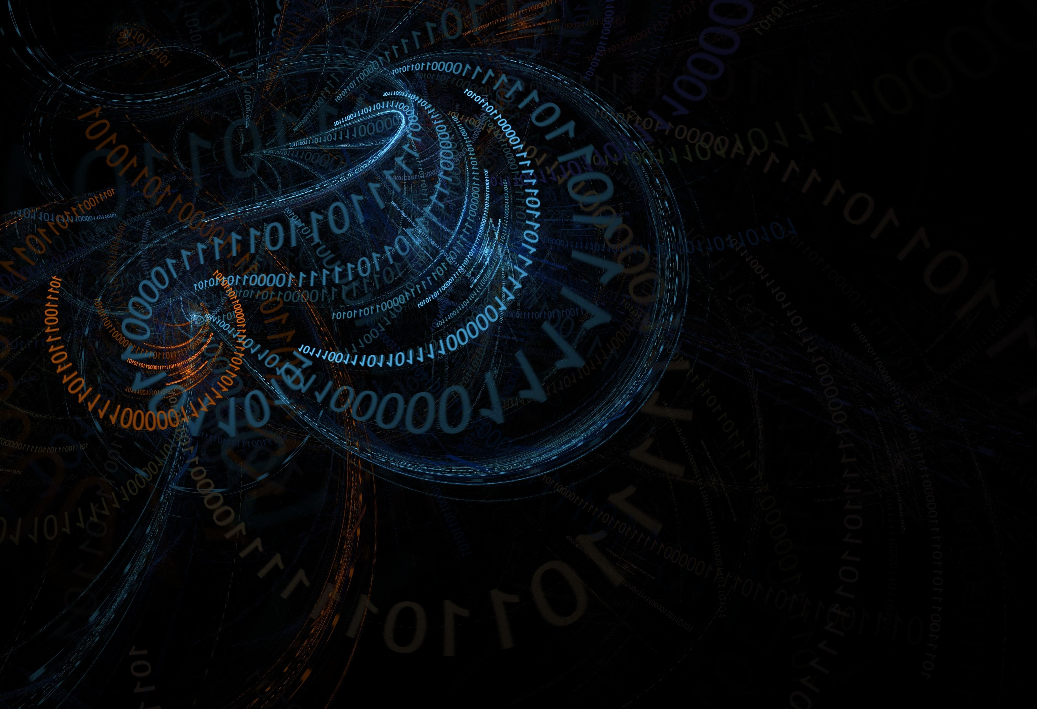 Binary Code Abstract 4k Code Wallpaper Neon Wallpaper Coding
