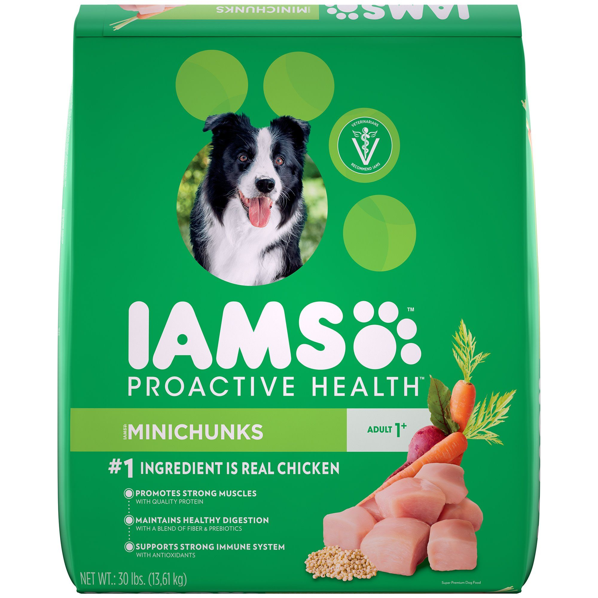 Iams Proactive Health Adult Minichunks Small Kibble High Protein
