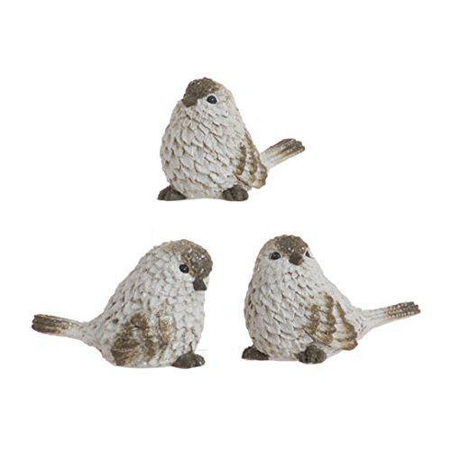 "RAZ Imports - 2.5"" Birds - Set of 3"