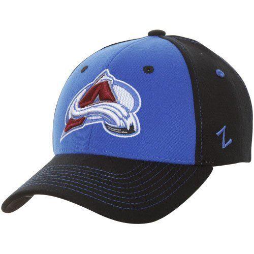 2f16111d7 NHL Zephyr Colorado Avalanche Uppercut Z-Fit Hat - Black/Steel Blue ...