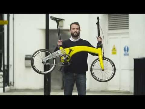 Hummingbird The Lightest Folding Bike In The World Folding Bike Bike Bicycle Design