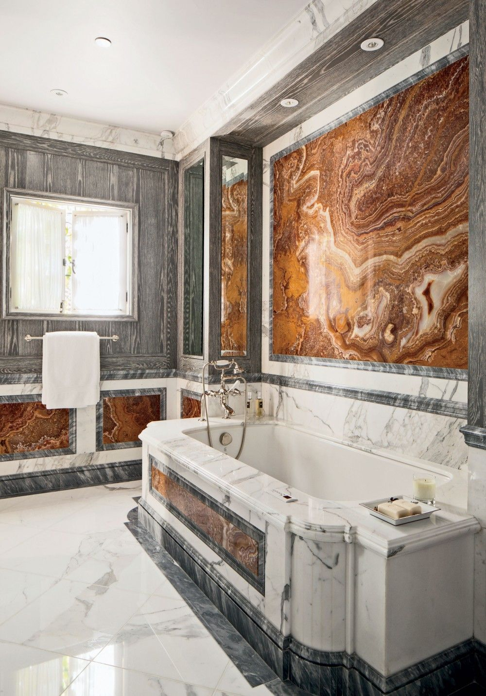 Exotic Bathroom By JP Molyneux Studio Ltd. In Pebble Beach, CA