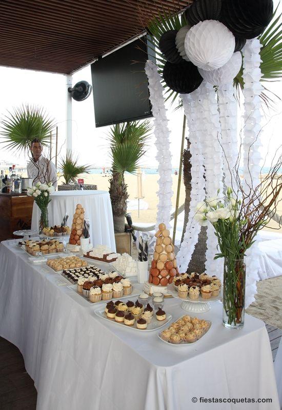 Decoraci n fiesta en la playa eventos de fiestas - Decoracion boda playa ...