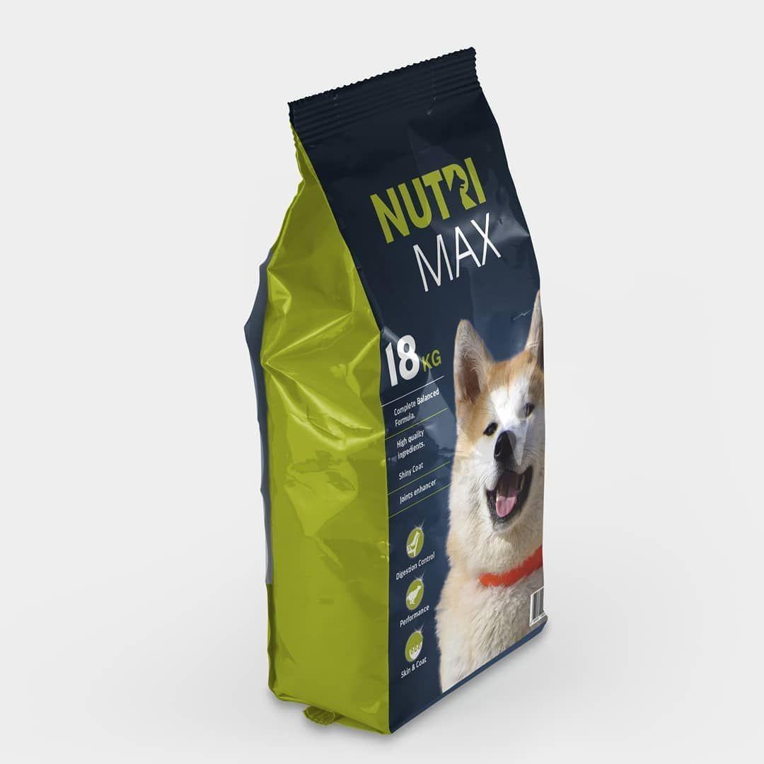 Dog food packaging design  Naturous