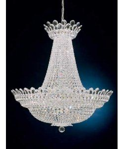 Schonbek 5874S Trilliane 63 Light Ceiling Pendant in Silver with Swarovski Strass Clear crystal $29,799.00