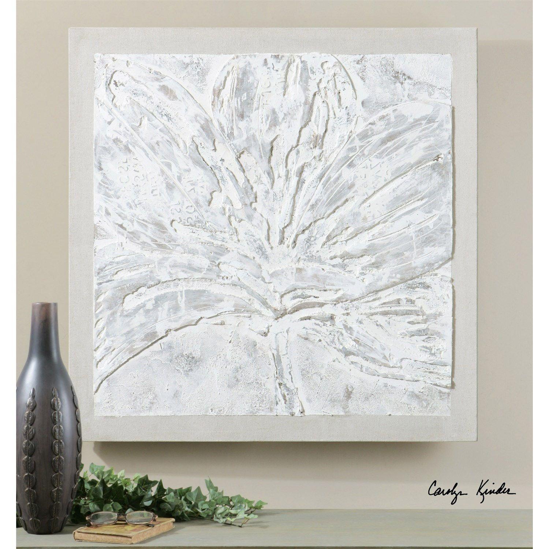 Uttermost 41912 Ghost Bloom Floral Art
