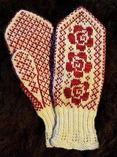 Else Maries Roser kan også kjøpes som garnpakke med håndfarget 2 tråders merinoull fra Garnkista, da får man mønster gratis :) http://garnkista.no/product/garnpakke-else-maries-roser